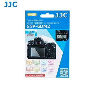 JJC GSP-6DM2 GLASS Ultra-thin LCD Screen Protector for CANON EOS 6D Mark II _AU