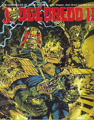 THE CHRONICLES OF JUDGE DREDD - JUDGE DREDD 11 - TITAN 1986 1st  EX CON - 2000AD