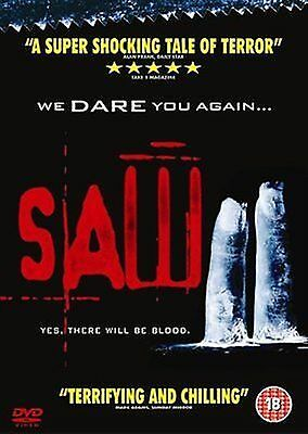 Saw 2 - Tony Nappo, Glenn Plummer, Shawnee Smith New and Sealed Region 2 UK DVD