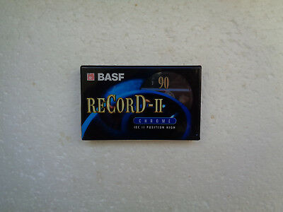 Vintage Audio Cassette BASF reCorD-II 90 * Rare From 1997 *