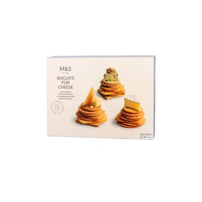 Marks & Spencer Biscuits For Cheese 300g (Pack of 6)