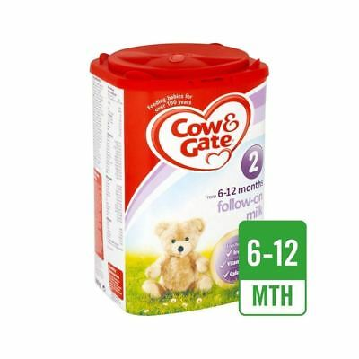 Cow & Gate 2 Follow On Milk Powder 900g - Pack of 6