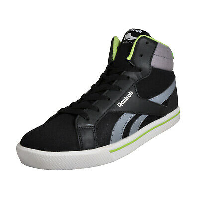 Reebok Royal Comp Junior Boys Mid Casual Basketball Trainers Black