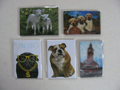 Fridge Magnets Various Sets Theme London Big Ben Bridge Bus Gift Decorative Fun