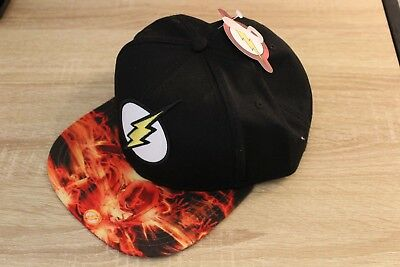 great fit new products online for sale NEW DC COMICS Justice League The Flash Snapback Cap Hat Adult ...