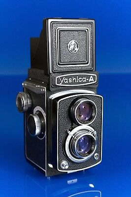 Yashica-A TLR Camera Medium Format 6x6 Mint Condition