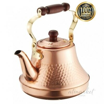 Pure copper Classy Kettle 2.5L TY-8325 2725ao by Takegoshi industry From JAPAN