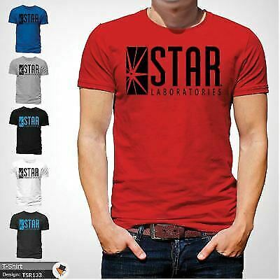 STAR Laboratories T Shirt Top The Flash S.T.A.R. Labs  GIFT T-SHIRTS Red !
