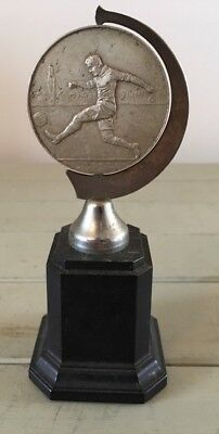 Vintage football trophy East Riding, trophy, football, East Riding FA, antique