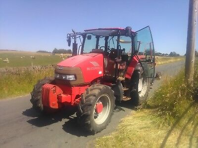 McCormick CX105 105HP 4WD 2007 40KPH Tractor with Front Weights Pekins Engine