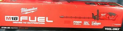 """Milwaukee 2726-20 M18 Fuel Battery 24"""" Hedge Trimmer Double Side New In Box"""