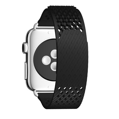 Apple watch sport band 42mm for man and woman   Black   100%Authenti   US Seller