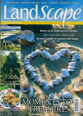 Landscape Magazine July 2018 ~ New With Free Fast P&p ~