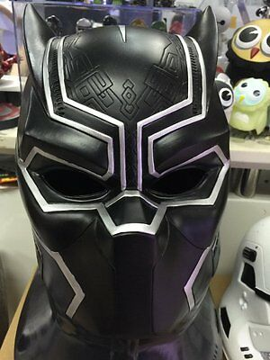 1/1 Helmet Mask For Civil War Black Panther Cosplay New
