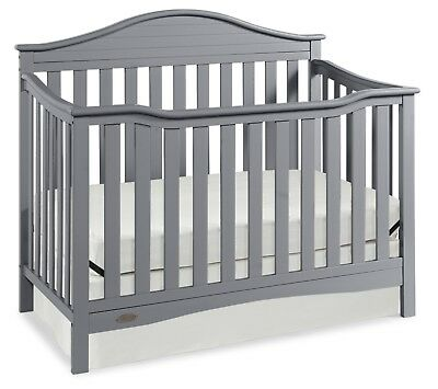 Graco 4 In 1 Nursery Bed Convertible Crib Set Baby Converts Toddler Full Size