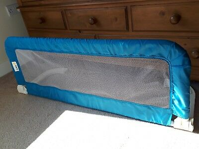 Blue Safety 1st Adjustable Bed Rail, Bed Guard, Kid's Cot Side #COLLECTION ONLY#