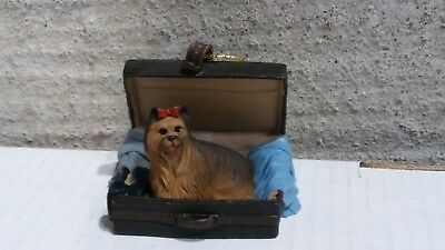 Victorian Trading Co Travel Companion Yorkshire Terrier Ornament 24D