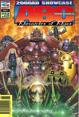 2000Ad Showcase 14 - Abc Warriors Khronicles Of Khaos - Fleetway/quality Comics