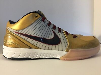 official photos 58985 ef1e4 Like us on Facebook · Nike Zoom Kobe IV 4 Olympic Gold Medal Size  size 12.5