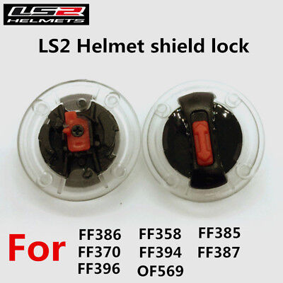 1 Pair Motorcycle Helmet Face Shield Lock for LS2 FF370 FF386 F396  Ff358 Ff385
