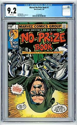 Marvel No-Prize Book #1 CGC 9.2 Jim Owsley text