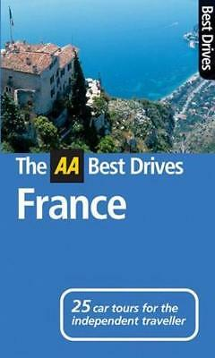 NEW AA Best Drives France  By AA Publishing Free Shipping