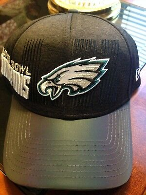 d29fb6098 NWT PHILADELPHIA EAGLES Super Bowl LII Champions Locker Room Hat ...