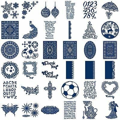 CLEARANCE! Tattered Lace Metal Dies by Stephanie Weightman - BIG RANGE (1)