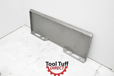 """Skid Steer Attachment Mount Blank, Weld Ready Formed 5/16"""" / 8mm Steel Plate"""