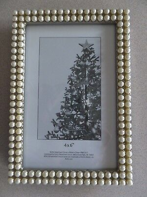 Kohls Picture Frame 4 X 6 Wood Metal Snow Sled 1699 Picclick