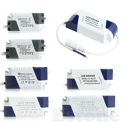 LED Driver Transformer Power Supply Non-Dimmable For Ceiling LED Light Lamp