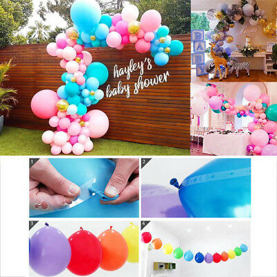 HAPPY BIRTHDAY 16-70th 5FT STRING HANGING PARTY DECORATION 6 STRINGS 3 COLOURS!