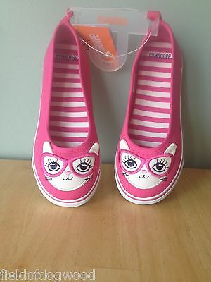 NWT Gymboree CAT Kitty 3D EARS Sneakers Shoes Bright Ideas 9,10 Girl