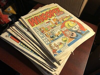 Vintage Comic Bundle - 33 X Whoopee & Wow