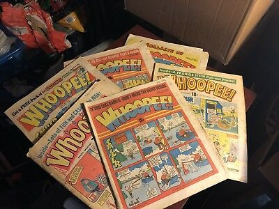 Vintage Comic Bundle - 6 X Whoopee