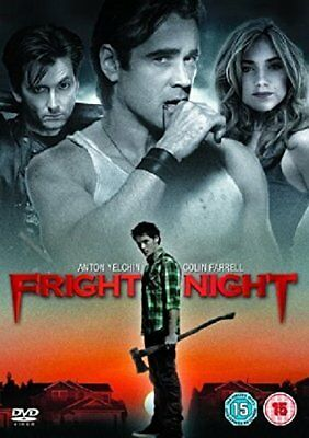 Fright Night (2011) DVD R1,3,4,5 - Colin Farrell, Anton Yelchin, Comedy Horror