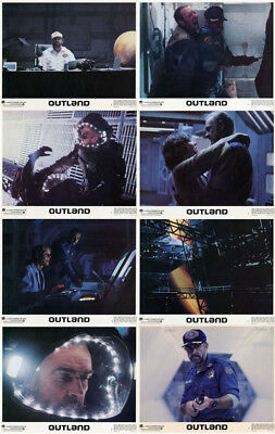 OUTLAND Lobby Cards (1981) Complete Set of 8