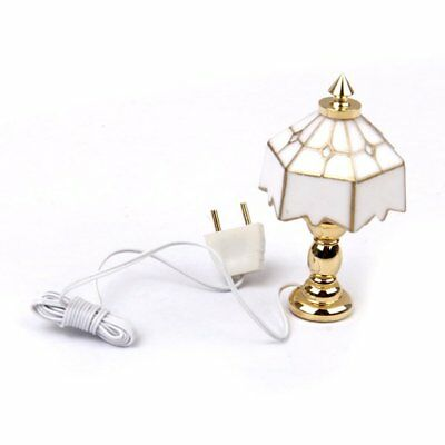 1:12 Lampe de table de maison miniature I2L1