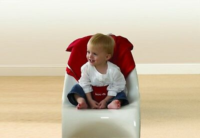 Koo-di Pack It Range Seat Me Safe Travel Seat Harness Toddler Seat Red