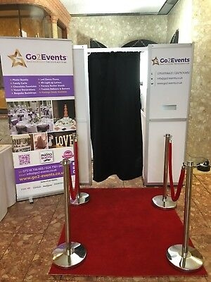 Photo Booth Hire- £199 3 hours unlimited Prints (Nationwide Delivery)