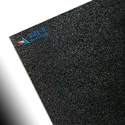 "ABS Plastic Sheet Black Vacuum Forming 1/8"" Thick 6"" x 12"""