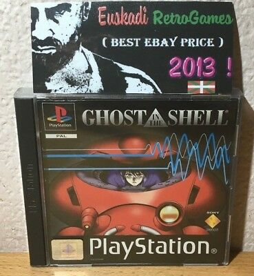 """"""" Ghost in the Shell"""" PlayStation 1 (COMPLETO) PAL ESP."""