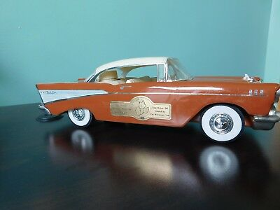 1957 Chevy Bellaire Convertible Jim Beam Decanter, Limited Edition