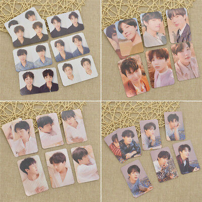 7pcs BTS Fake Love Yourself Signature Lomo Card PVC Photocards Members O R Y U