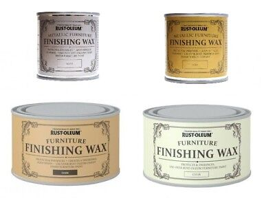 Rust-Oleum Chalk Chalky Furniture Paint Finishing Wax - Clear and Dark