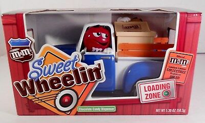 M & M Mars Red's Garage Sweet Wheelin' Candy Dispenser Medchanic on duty: Yellow