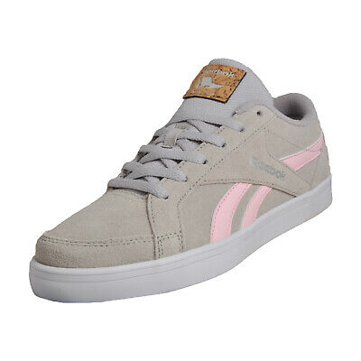 5aad3717c589e REEBOK ROYAL CLASSIC Kewtee LS womens Ladies Suede Leather Retro Trainers  Grey -  50.20