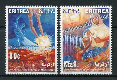 Eritrea 2011 MNH Eritrean Martyrs Day 20th Anniv 2v Set Independence Stamps