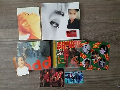 OPENED SHINEE ALBUMS, light stick and 3 folded posters  Odd, 1of1, and Move
