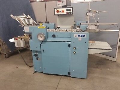MBO B 115 Folder with right angle